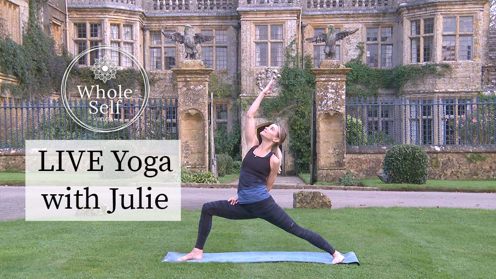 Live yoga with Julie Montagu