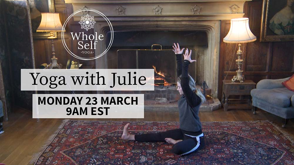 Live Yoga with Julie - Monday 23rd March