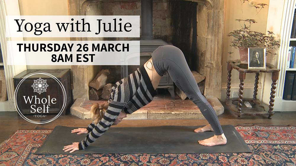 Live Yoga with Julie - Thursday 26th March