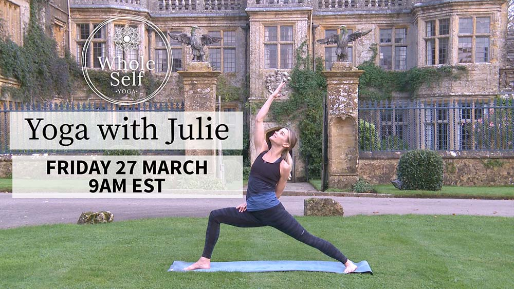 Live Yoga with Julie - Friday 27th March